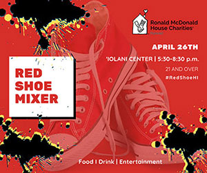 Red Shoe Social Event Flyer