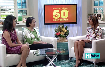 RMHC–HI President Jerri Chong discusses McDonald's partnership